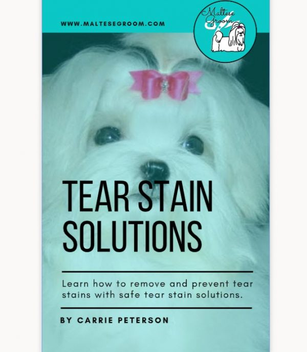 Maltese Tear Stain Book